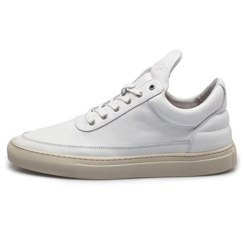 low top sneakers for filling pieces white low top sneakers in white for