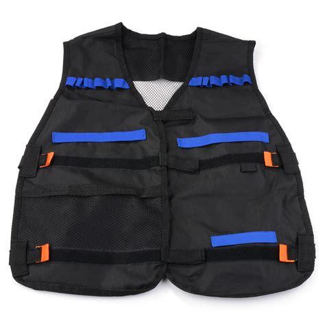 Nerf Vest elite tactical vest with muffler target reload