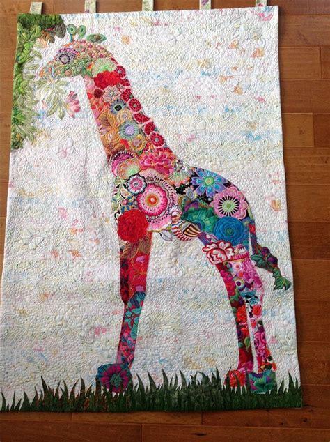 Giraffe Quilt Patterns by Giraffe Quilt Fiberworks Heine Pattern Work