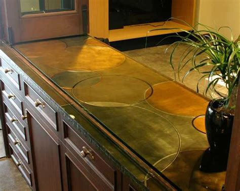 unique countertop ideas 40 great ideas for your modern kitchen countertop material
