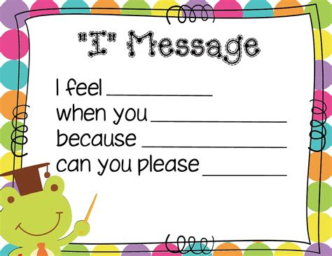 Message To The by Mrs Solis S Teaching Treasures I Message Poster