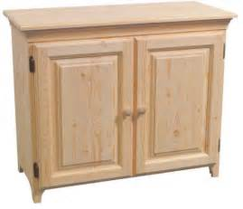 console cabinet by archbold furniture gt wood land unfinished