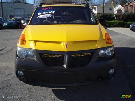 pontiac aztek yellow 2001 aztek yellow pontiac aztek 15275662 photo 10