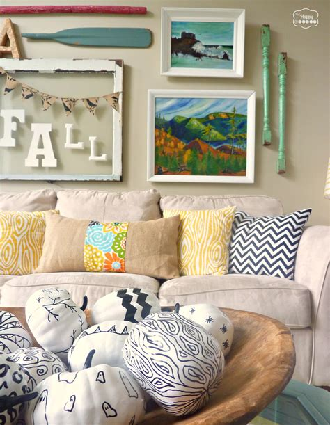 Living Room Decor Fall Fall Ifying The Living Room The Happy Housie