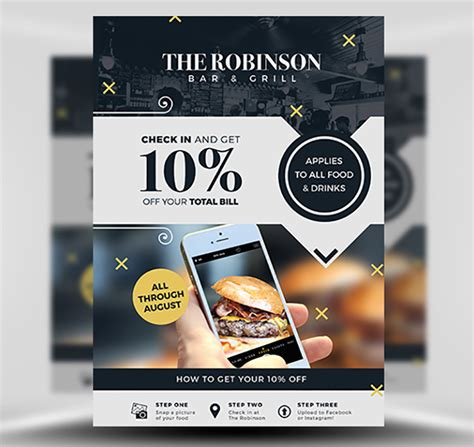 discount flyer template social media discount ad flyer template flyerheroes