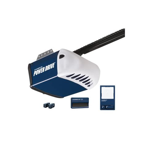 Garage Door Opener At Lowes Shop Chamberlain 0 5 Hp Power Drive Chain Garage Door