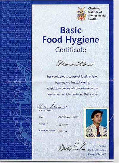 basic food hygiene certificate for mr india newbury finest indian cuisine takeaway
