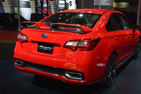 modified subaru legacy 2015 subaru warms up legacy b4 blitzen concept for tokyo auto