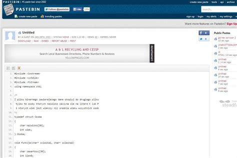 all pastebincom what is pastebin how a quiet site for coders got thrust