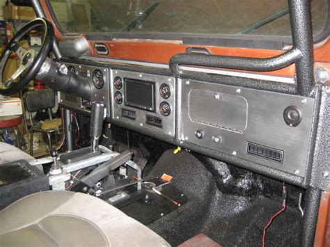 Jeep Yj Dash Custom Dash For Cj Project Jeep Cj Forums