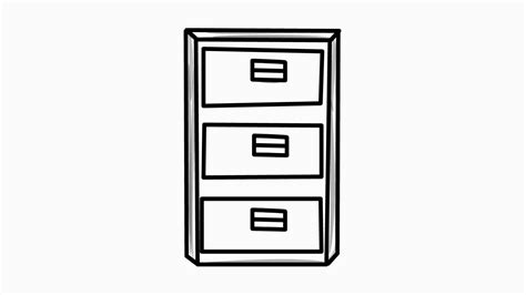 Cabinet Drawing by Cabinet Drawing