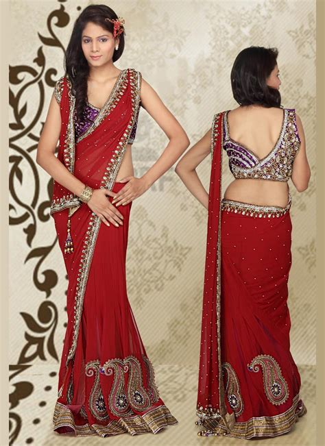 how to drape a saree pallu wearing saree in 5 different styles shopstyle14