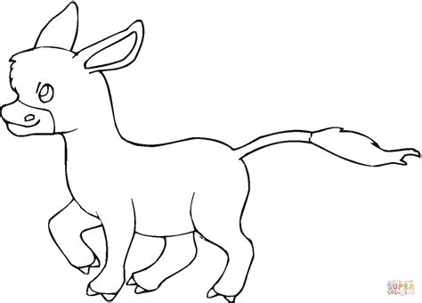 baby donkey coloring page donkey baby coloring page free printable coloring pages