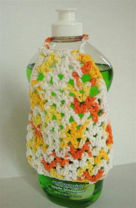 apron pattern for soap bottles 1000 images about crochet dish soap bottle aprons hand