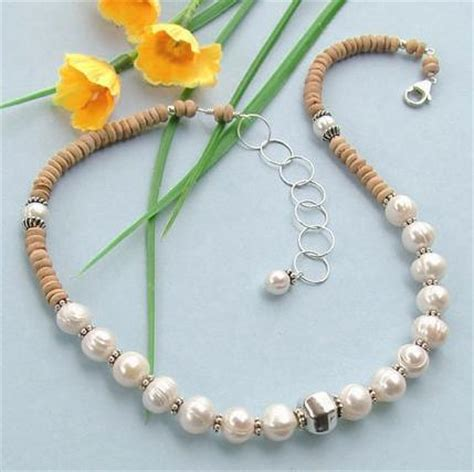 Pearl Handmade Jewelry - china handmade jewelry pearl necklace wood bead