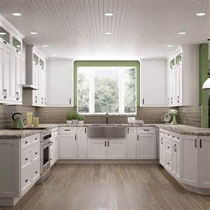 furniture style kitchen cabinets best 25 white shaker kitchen cabinets ideas on