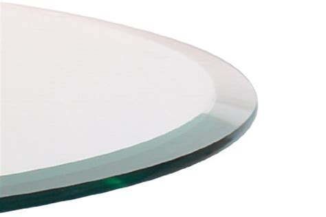 48 inch round tempered glass table top 48 quot inch round glass table top 1 2 quot thick beveled edge