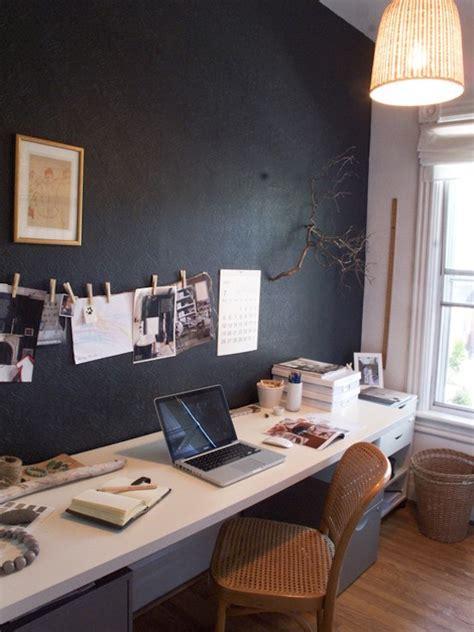 chalkboard paint home office ideas  transform