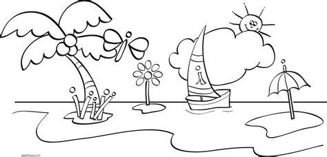 dibujos infantiles para pintar y coloreardibujos para dibujos de la playa para colorear