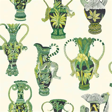 paint with a twist ardmore cole khulu vases green white wallpaper africa with