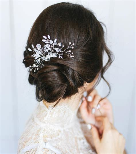 stylish wedding hairstyles  short hair