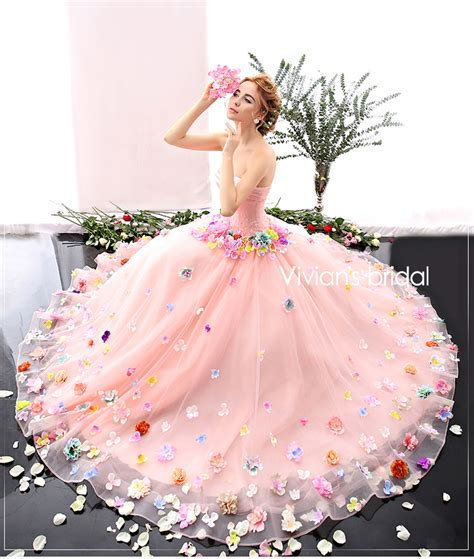 Flower Dresses For Wedding by Buy Wholesale Blush Pink Wedding Dresses From China