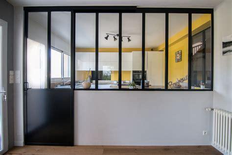 cloison vitr馥 cuisine cloison vitre cuisine construire une verrire style
