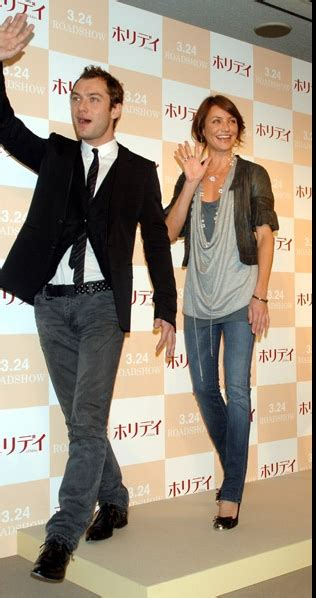 Lindsay And Jude by Jude Lindsay Lohan Cameron Diaz Jude In Tokyo