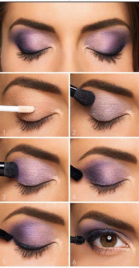 Tutorial Eyeshadow Wardah Seri E pics for gt make up eyeshadow steps