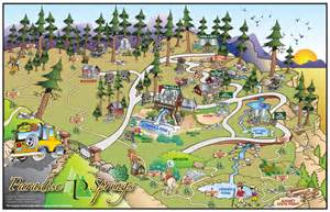 paradise springs map paradise springs