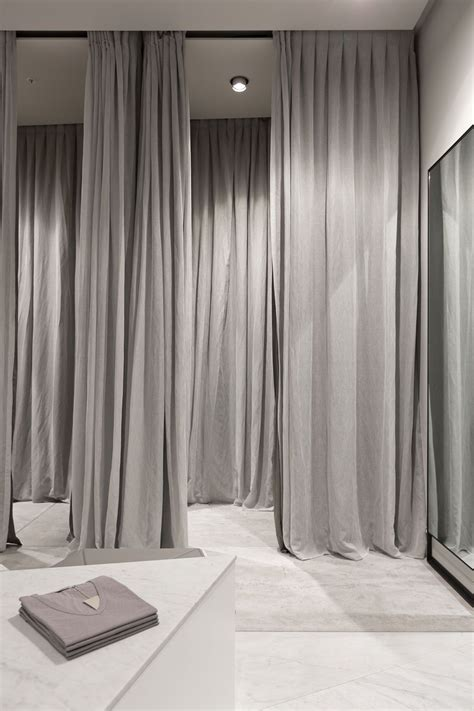fitting room curtain fitness rooms on pinterest home gym design small home