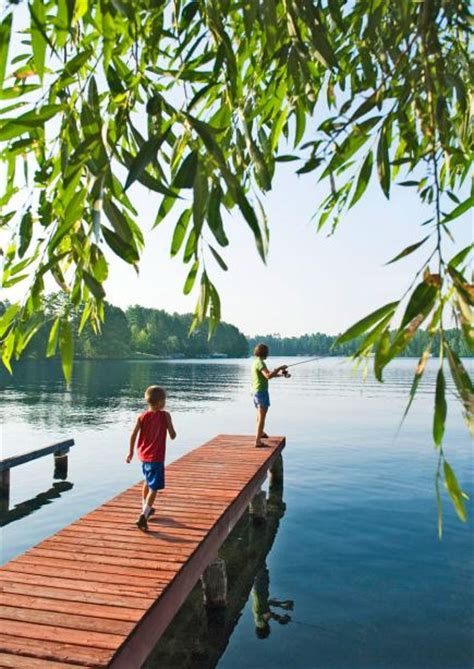 Cabin On The Lake Vacation Spots by 25 Coolest Midwest Lake Vacation Spots Midwest Living