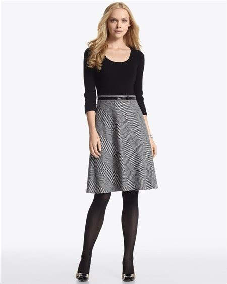 White House Black Market Dresses by 2 In 1 Sweater Dress