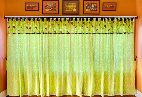 how to make tab top curtains with buttons tab top panel curtains with button accents sew4home