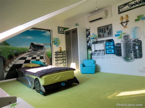 chambre voiture d 233 co chambre theme voiture