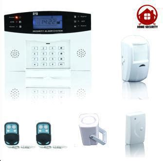 cheap wholesale lcd home alarm system home shop