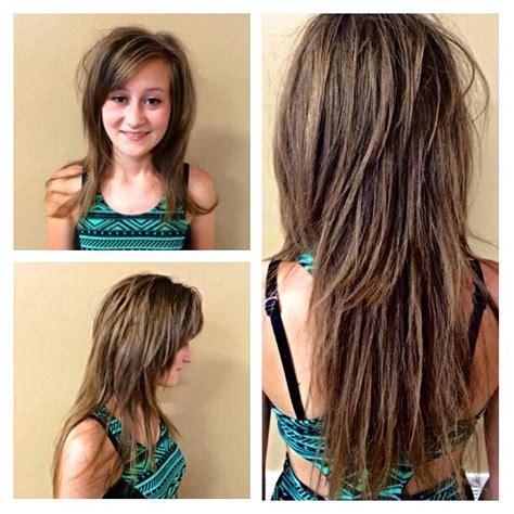 video of jow to razor cut around the ear long layered razor cut hair pinterest long layered