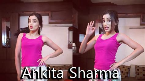 tutorial dance on pallo latke cute ankita sharma dance on pallo latke yahi re yahi re