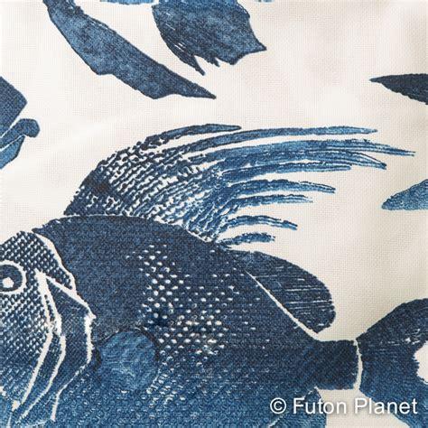 blue futon covers