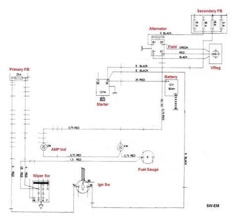 charging system wiring diagram wiring diagram and schematics