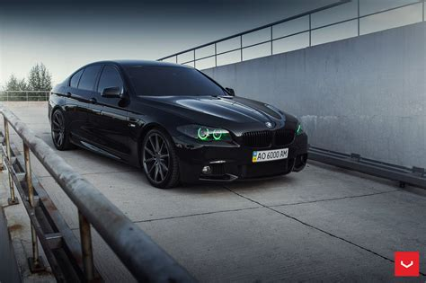bmw 5 rims bmw 5 series m sport with vossen wheels