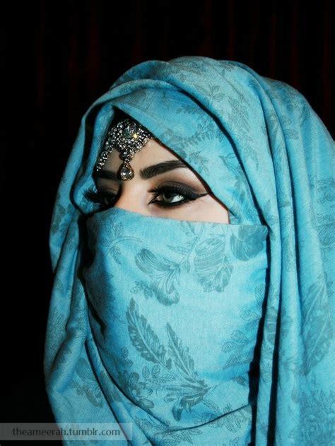 niqab tutorial with eye veil blue hijab niqab i need to know how she did this