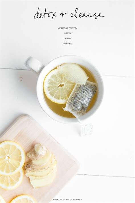 Lemon And Honey Detox by Detox Honey Lemon And Teas On