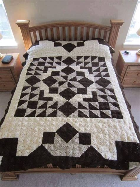 quilt pattern crochet afghan casablanca crochet quilt free pattern meladoras