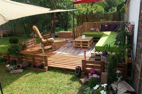 arredare giardino con bancali arredare giardino con i bancali foto 24 40 design mag
