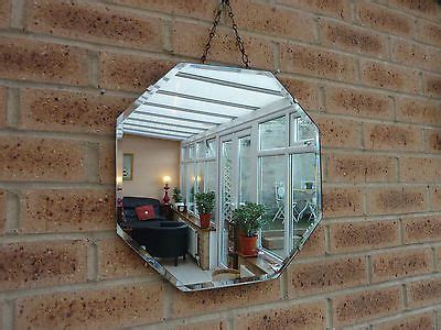 Hexagon Bevelled Mirror 10pcs 1 hexagons and vintage on