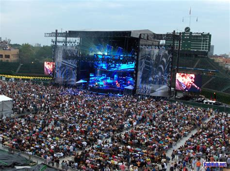 wrigley field concert seating the gallery for gt wrigley field seating chart with rows