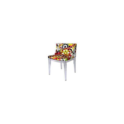 chaise design mademoiselle missoni par kartell design