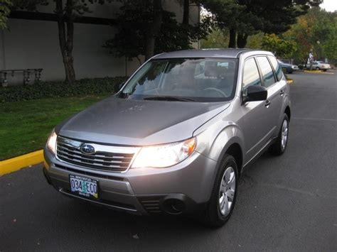 2009 subaru forester owners manual 2009 subaru forester 2 5 x awd 1 owner 5 spd manual