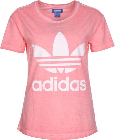T Shirt Adidas Pink adidas pe washed w t shirt pink wei 223 meliert